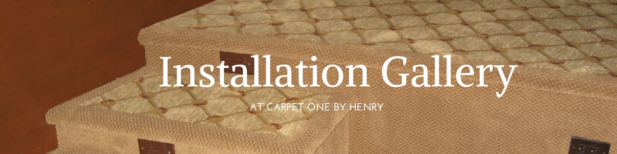 Carpet One By Henry Installations